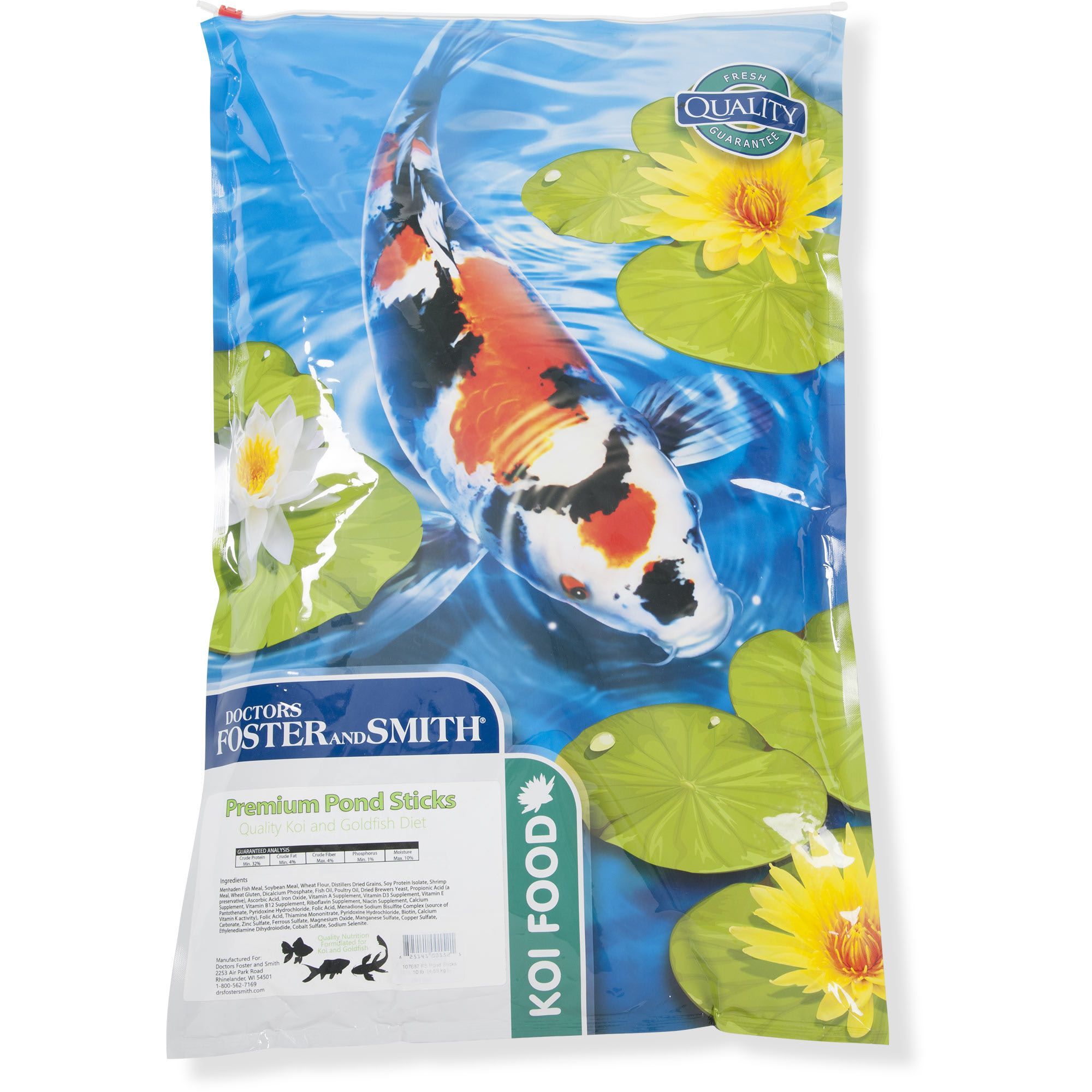 Drs Foster And Smith Premium Pond Sticks Koi And Goldfish Food 10 Lbs Petco In 2020 Goldfish Food Foster And Smith Fish Feed