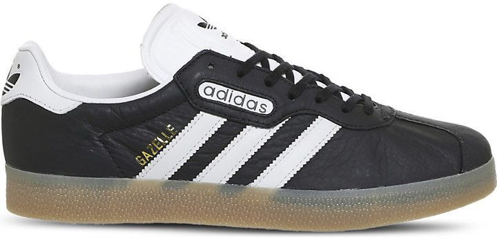 adidas Gazelle Super leather trainers