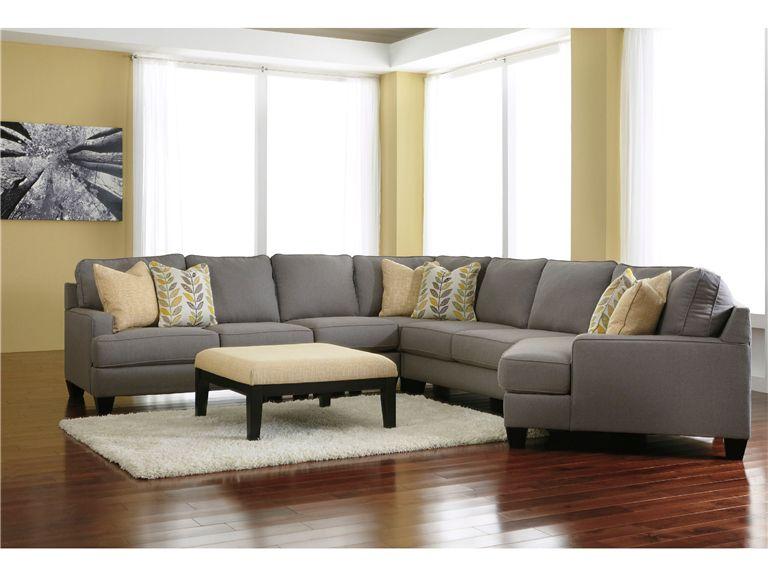 Signature Design By Ashley Living Room Oversized Accent Ottoman 2430208    Furniture Showcase   Stillwater, OK