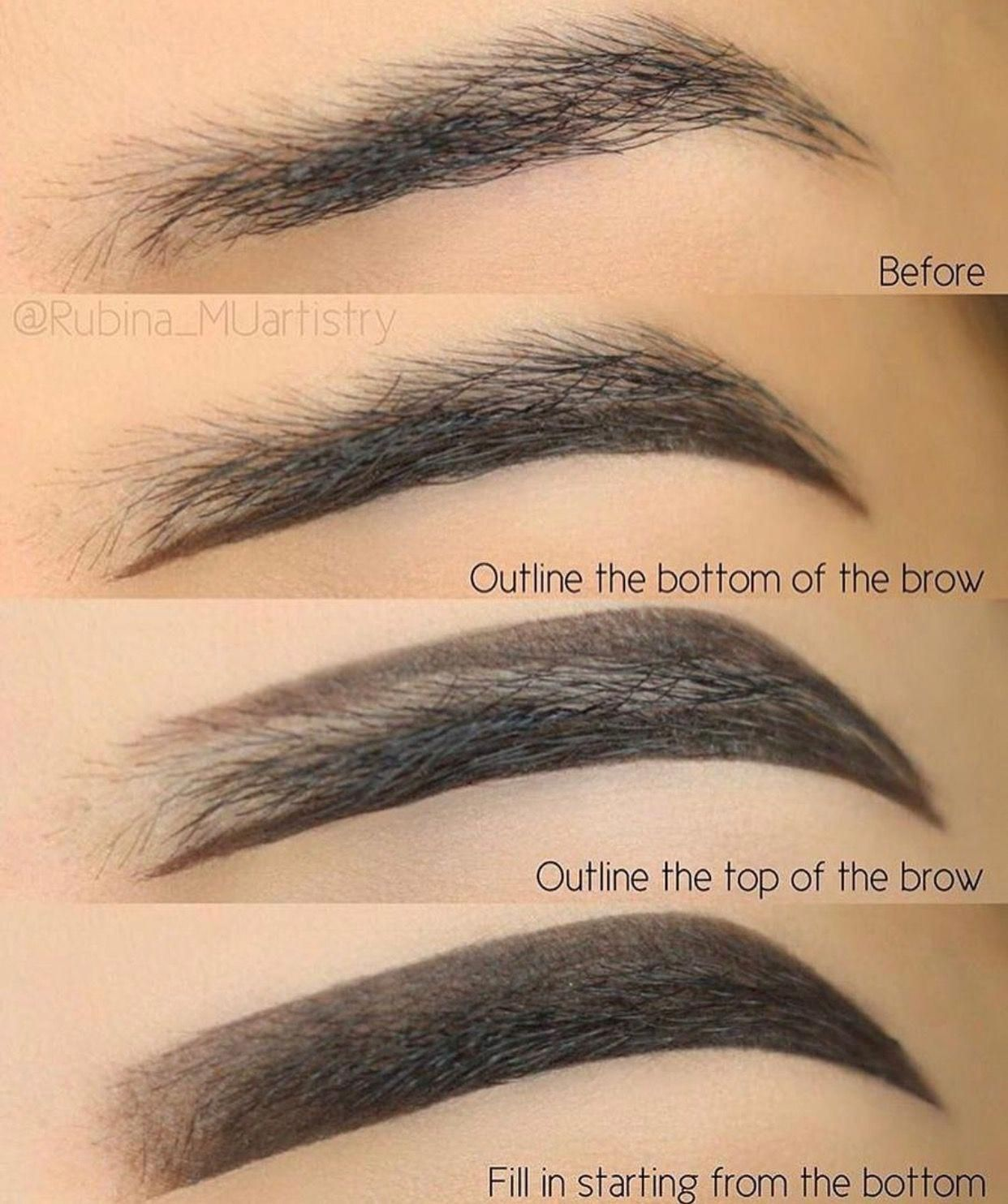 How To Do Eyebrows Makeup   Best Place For Eyebrow Shaping ...