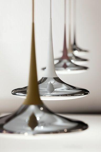 Cool Elegante Linien H ngeleuchte Falling Leaf von Tobias Grau
