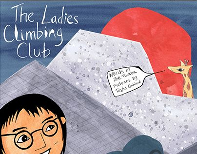 "Check out new work on my @Behance portfolio: ""Book Cover: The Ladies Climbing Club"" http://be.net/gallery/49529031/Book-Cover-The-Ladies-Climbing-Club"