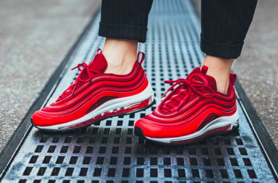 697828073f Nike WMNS Air Max 97 Ultra Gym Red Perfect For Valentine's Day Emporium of  Tings Web Magazine. Style, sneakers, art, design, news, music, gadgets,  gear, ...