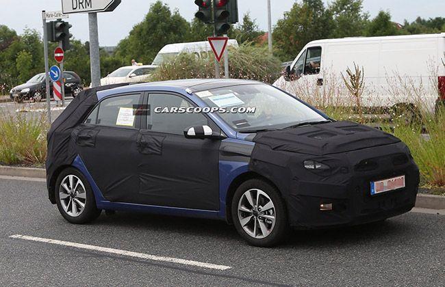New 2015 Hyundai I20 Spied In Germany Hyundaicars Hyundai Hyundai Cars Germany