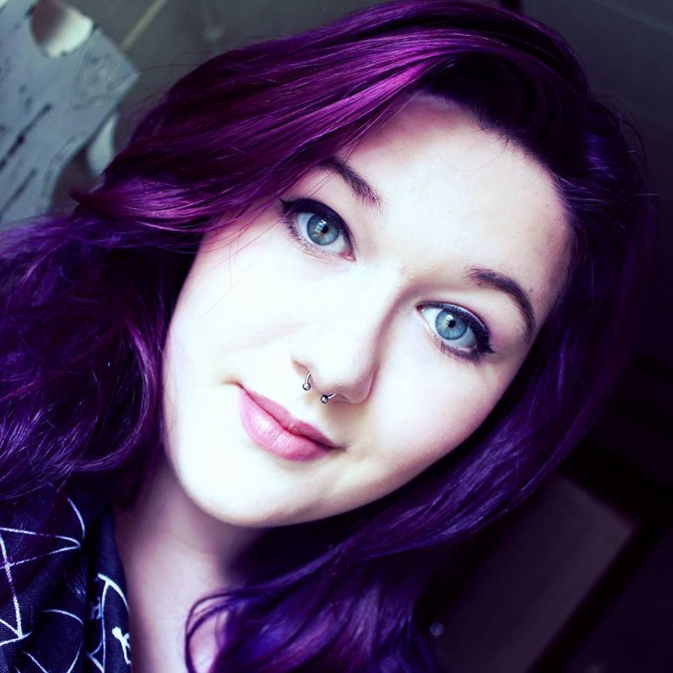 Purple Desire By Splat On Unbleached Dark Hair Splat Hair Dye Splat Purple Hair Dye Dyed Hair