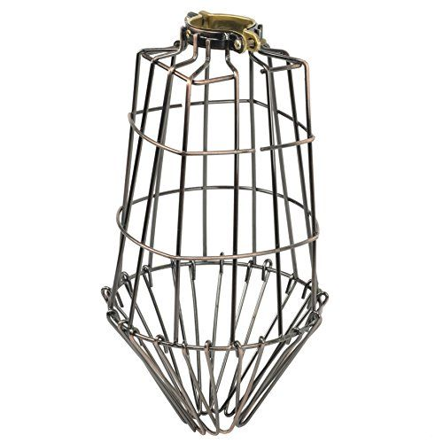 1099 diy projects elongated metal wire cage lamp guard by 1099 diy projects elongated metal wire cage lamp guard by artifactdesign in bronze greentooth Gallery