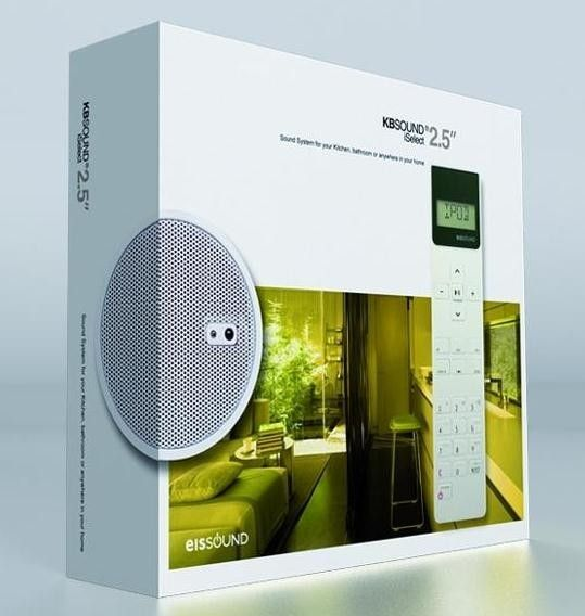 Luxalon inbouwradio badkamer online kopen   afbouwmateriaal.com