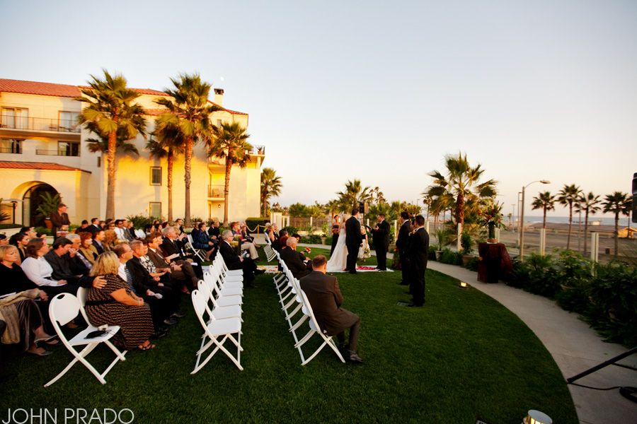 Photos From Zach Christina S Wedding This Past Weekend At The Hyatt In Huntington Beach