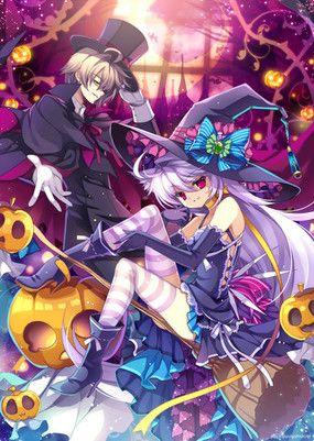 Anime Couples Halloween Anime Anime Anime Halloween Anime Art