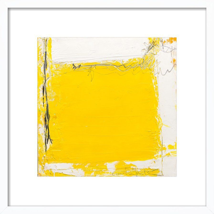 Tache Jaune Framed Giclee Print, Artfully Walls | Art | Pinterest ...