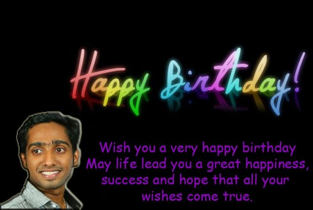 Wish You A Many Many Happy Returns Of The Day May God Bless You