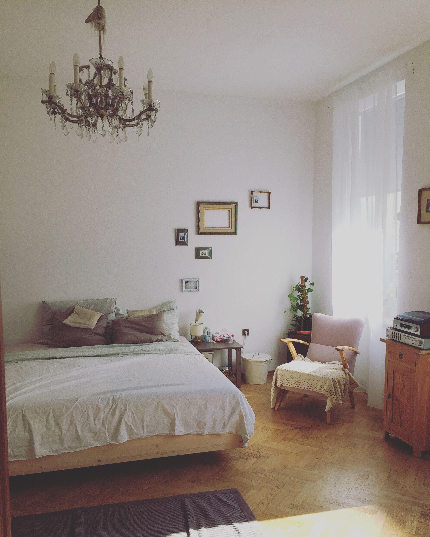 Vintage Schlafzimmer. Schlafzimmer Gestalten In Grau