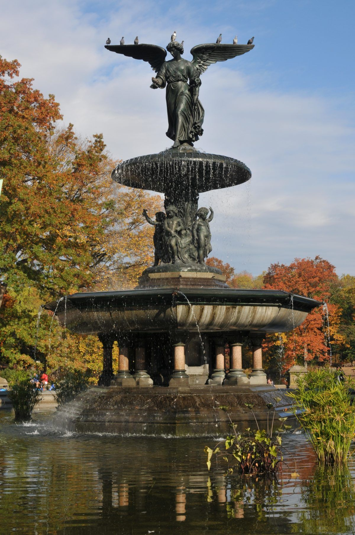 Book Review The Statues Of Central Park Fountain Park