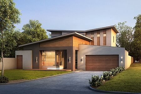 two storey home plans | plan | Pinterest | Home, Modern home plans ...