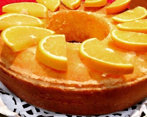 كيكة البرتقال Orange Cake
