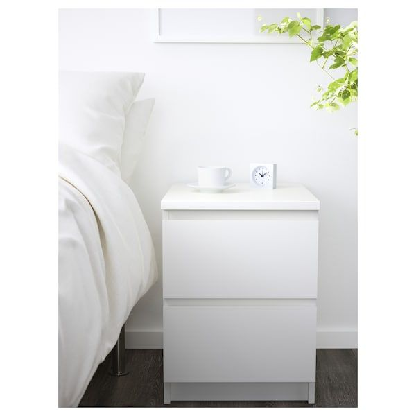 malm 2 drawer chest white 15 3 4x21 5 8 ikea drawers for sale raymour and flanigan queen beds