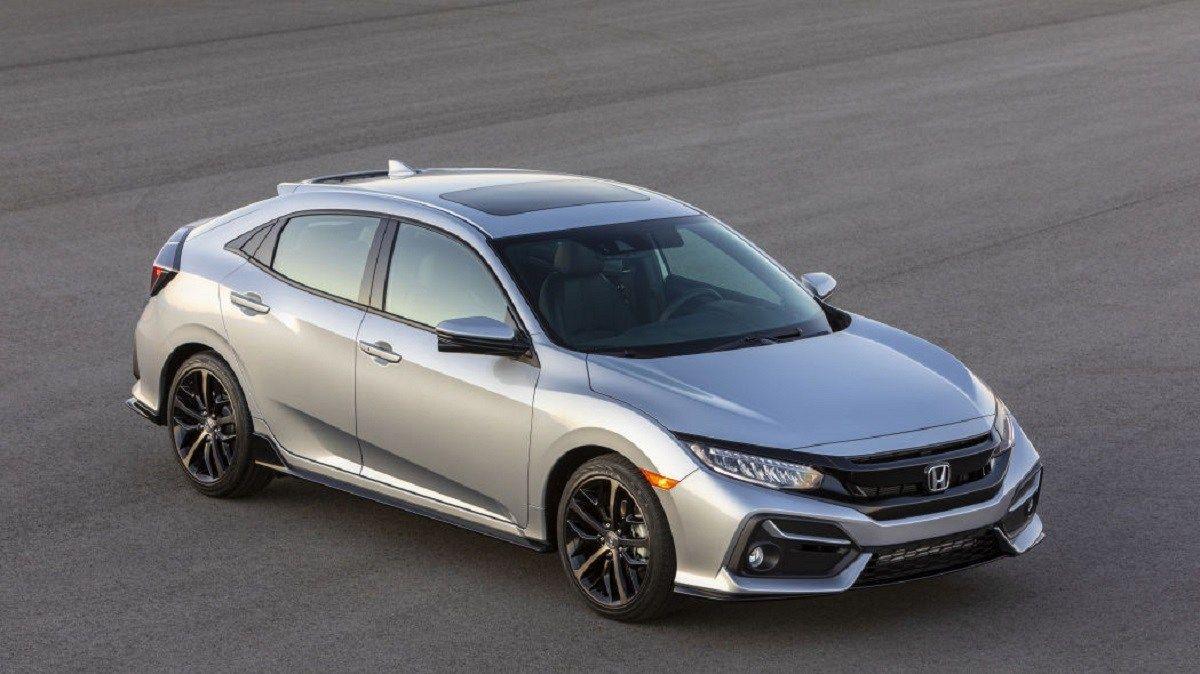 2021 Honda Civic Hatchback Price Increased By 350 Over Current Model Honda Civic Hatchback Civic Hatchback Honda Civic