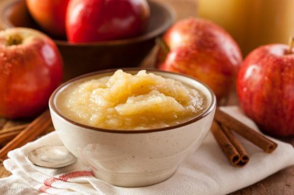 Cómo hacer compota de manzana sin azúcar