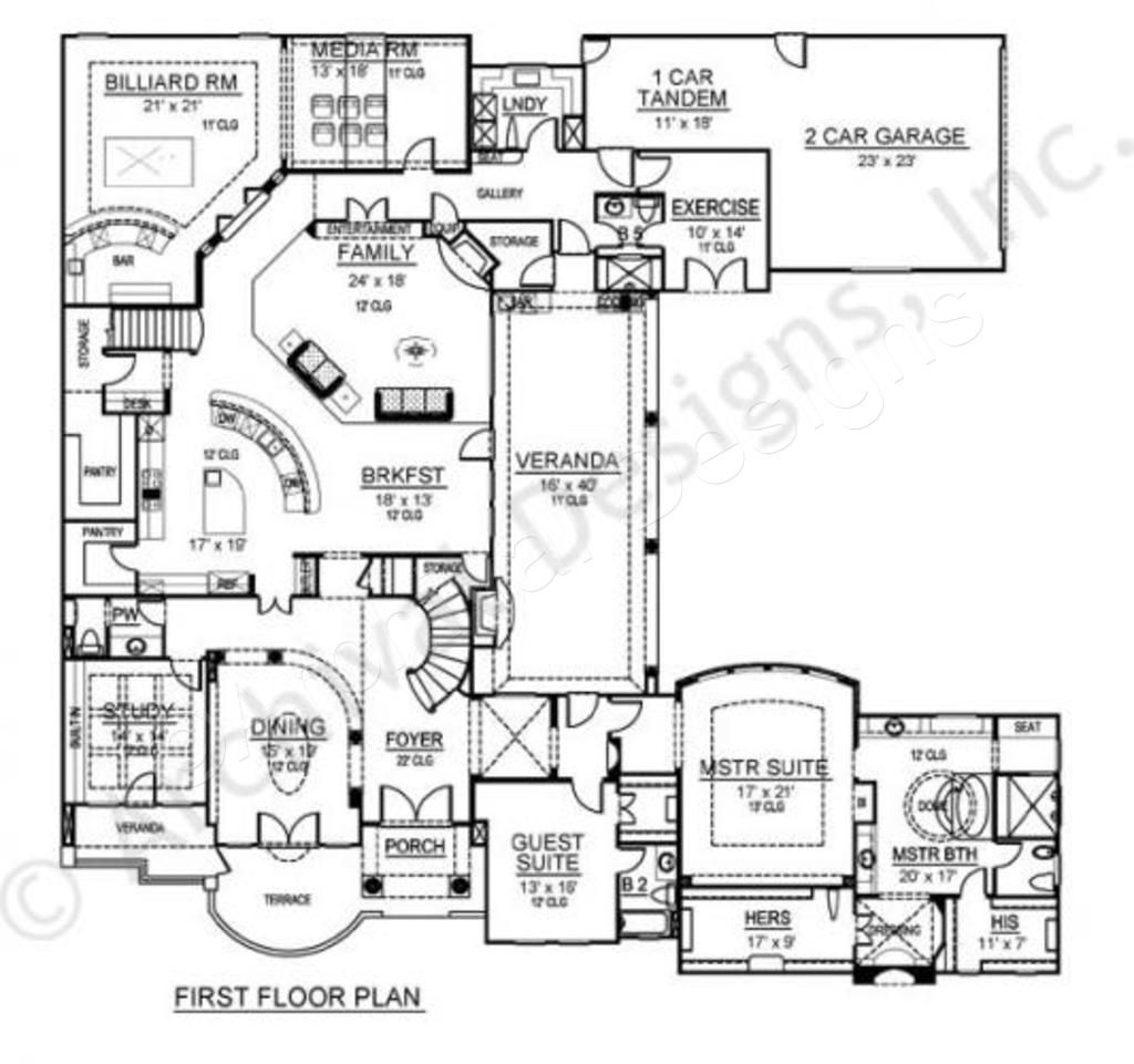 Santorini House Plan Luxury House Plans Santorini House House Plans