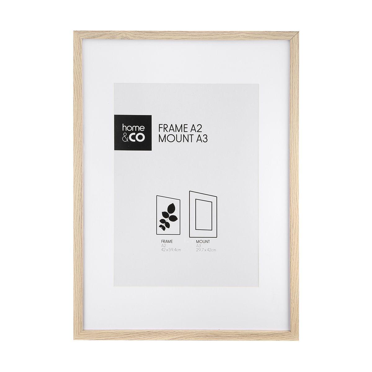 Frame Box A3 Wood Look Frame Box Frames Wood