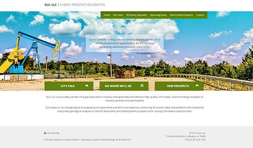 Gls Llc Web Design And Development By Usable Creative In Lafayette Louisiana Web Development Design Web Design Website Design