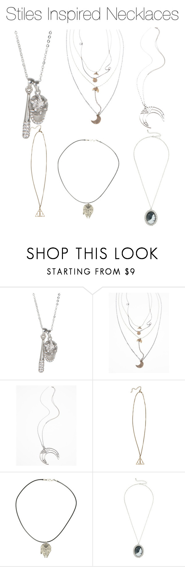 """""""Stiles Inspired Necklaces"""" by marisaborek ❤ liked on Polyvore featuring Free People"""