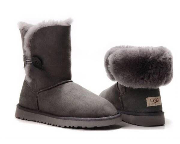 ugg 5803 bailey button grey comfortable boots fake uggs fake ugg rh pinterest es