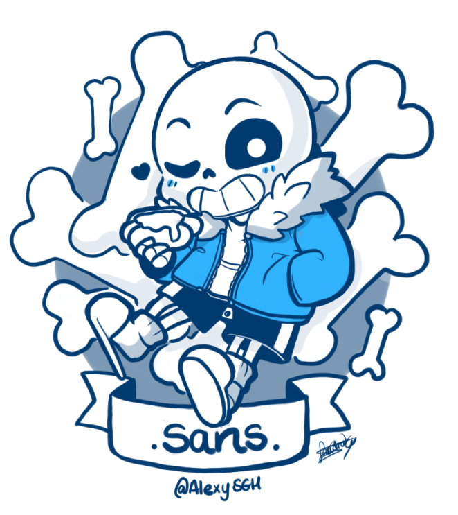 Just need to draw some Sans See my works Dibujos