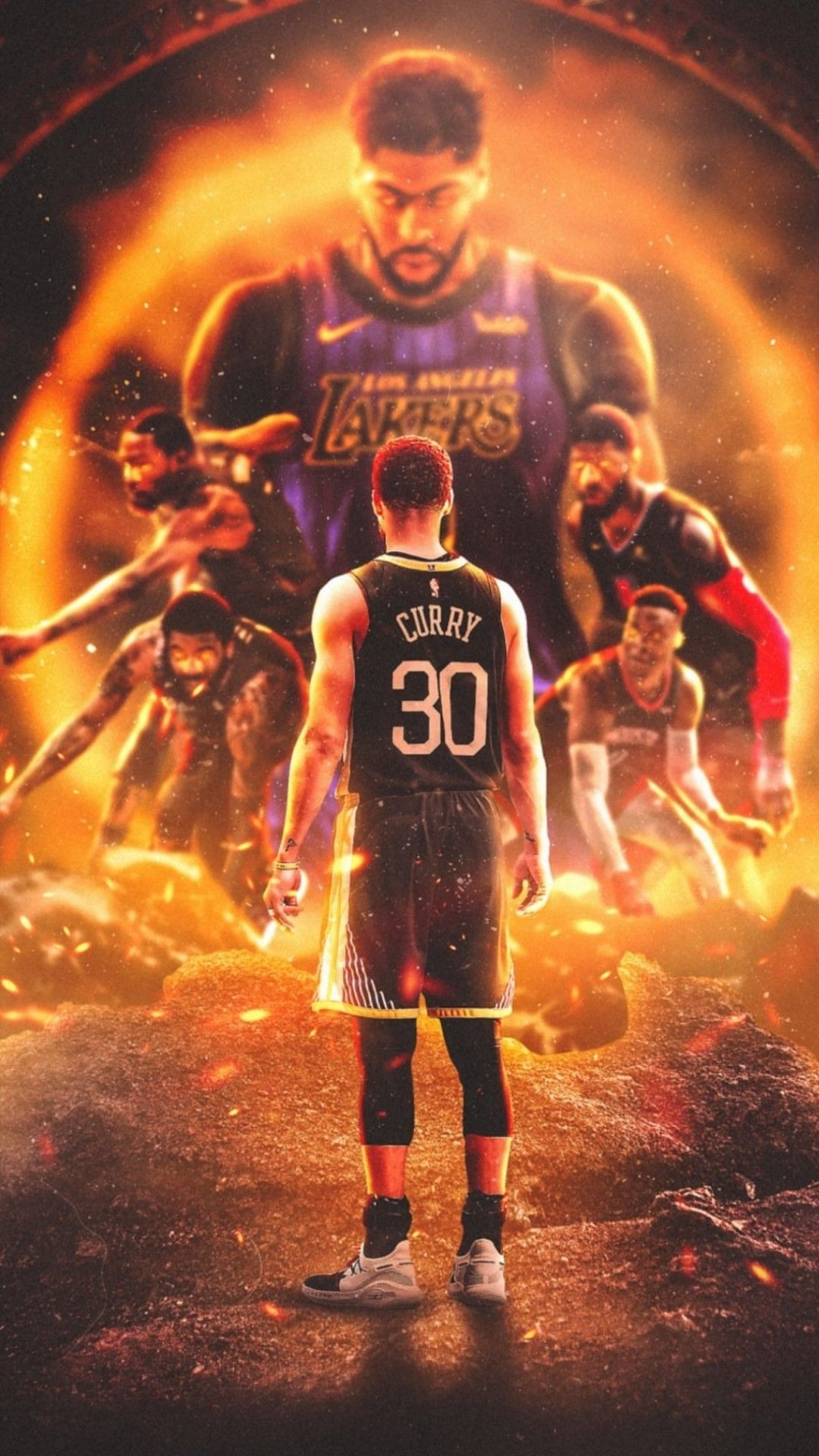 Curry Wallpaper Curry Nba Nba Pictures Nba Basketball Art