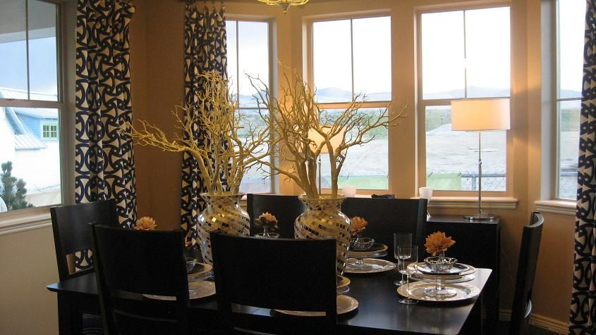 Model Home Curtains model homes | model home decor: day break | elegant residents