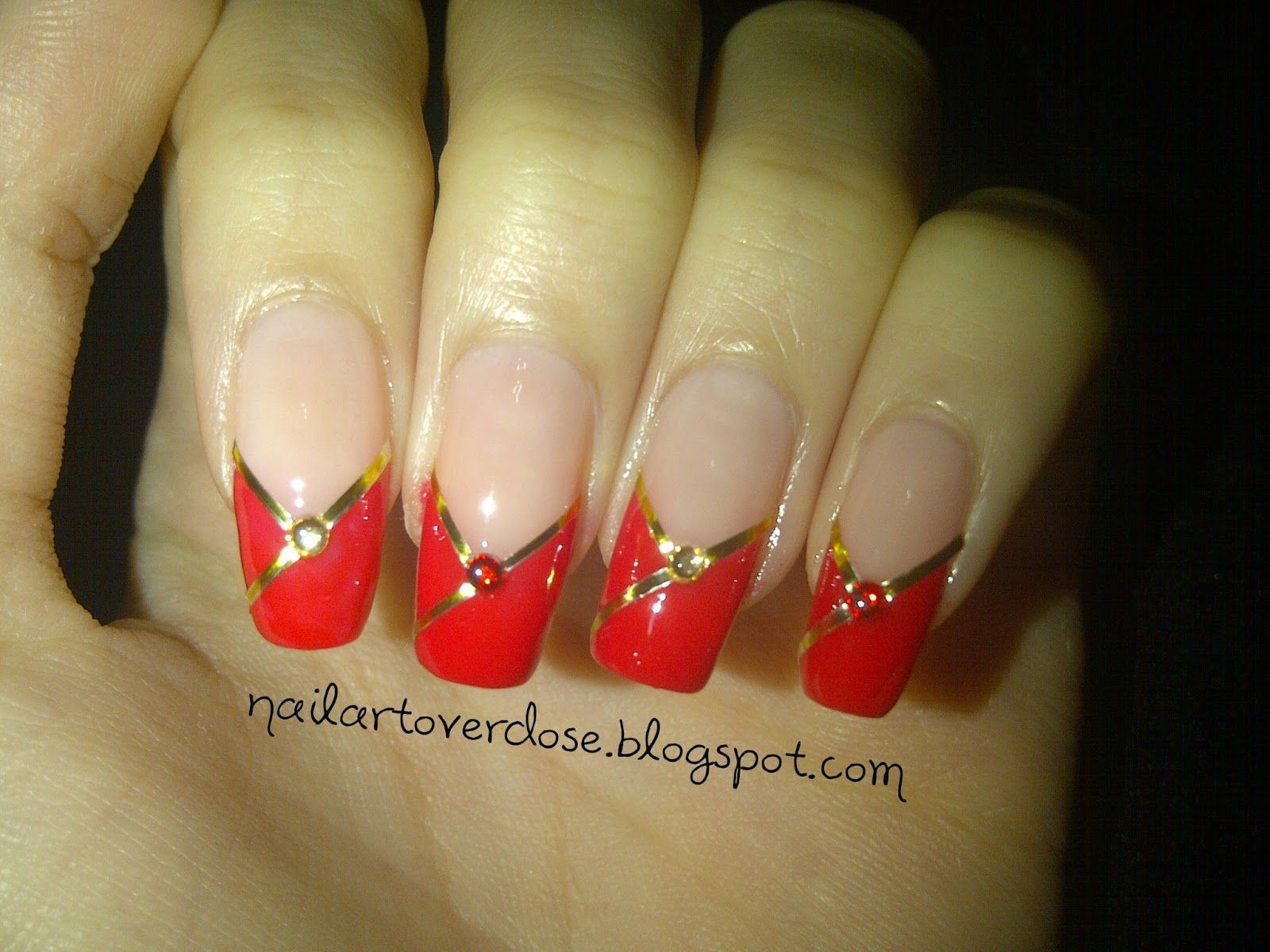 Nail Art Overdose: Chinese/Lunar New Year Nail Art Design ...