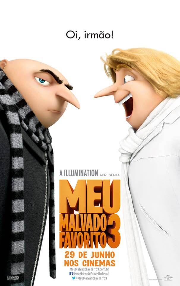 Trailer E Cartaz Do Filme Meu Malvado Favorito 3 Cinema Bh Assistir Filmes Gratis Dublado Filmes Gratis Malvado