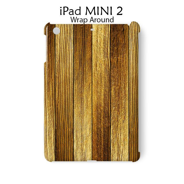 Wood Line Texture iPad Mini 2 Case Cover Wrap Around