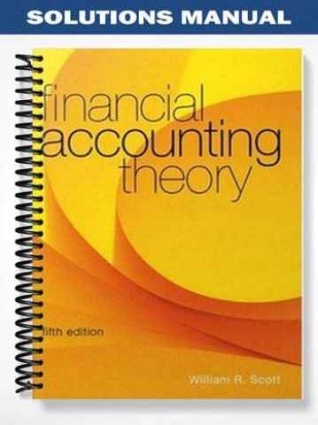 solutions manual for financial accounting theory 5th edition by rh pinterest com Managerial Accounting International Accounting