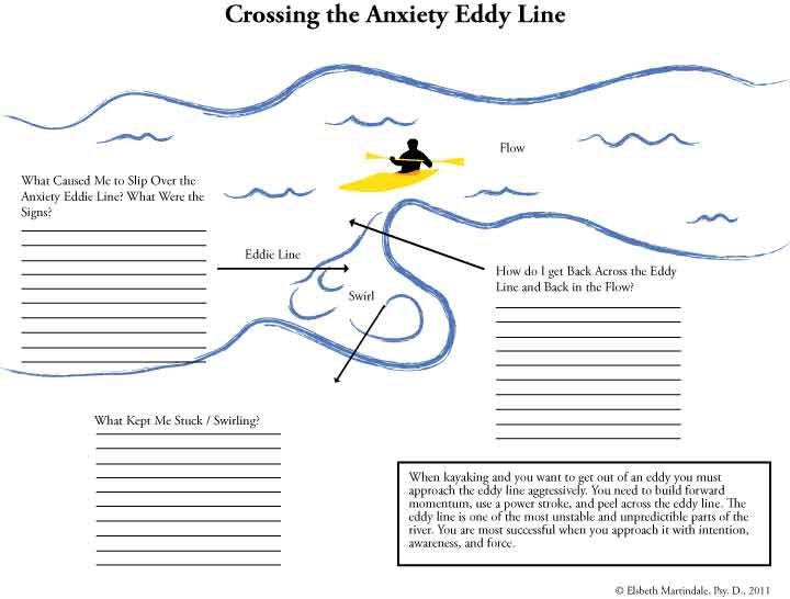 anxiety worksheet anxiety pinterest anxiety worksheets and rafting