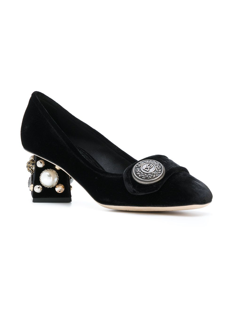 3982867940ac Dolce & Gabbana Jackie Pumps - Farfetch | shoes Dolce Gabbana- Gucci ...
