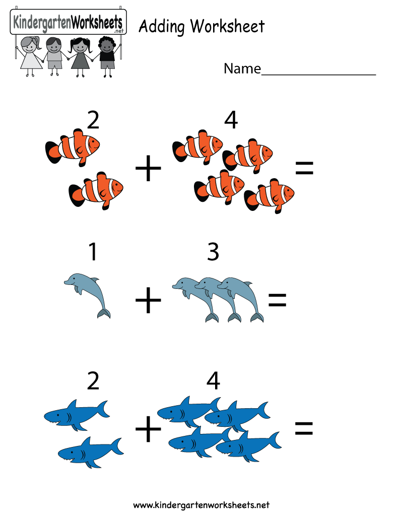Addition worksheets using images and numbers. Perfect for ...
