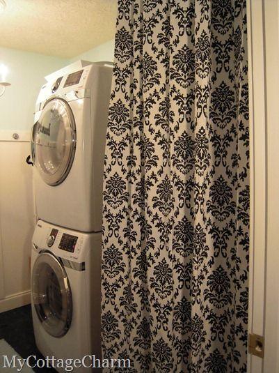 Unfinished Basement Ideas Laundry