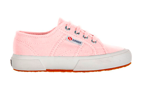 Supergas in pink for Rory and Oscar. With navy chinos and shirts.