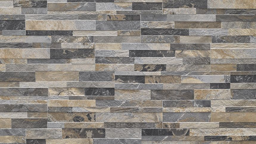 Cubics Multicolor 6 X 24 3d Porcelain Wall Panel 4 89 Per Square Foot In 2020 Wall Tiles Stacked Stone Fireplaces Ceramic Mosaic Tile