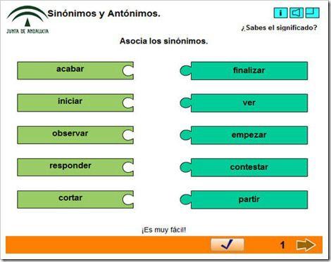 Sinonimos Y Antonimos Sinonimos Y Antonimos Antonimos Sinonimos