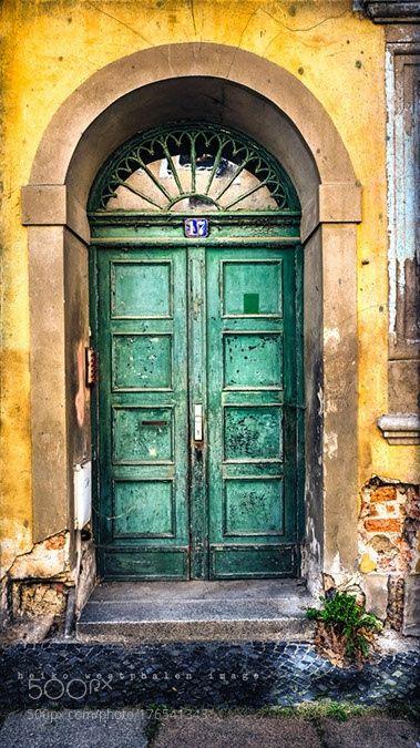 Vintage Door by heikowestphalen