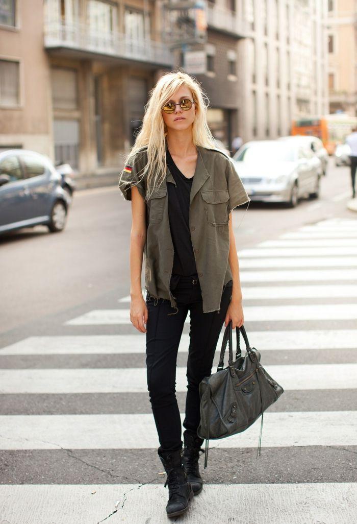 Extrêmement Tous les styles de la veste militaire femme | Bien habillée  VP56
