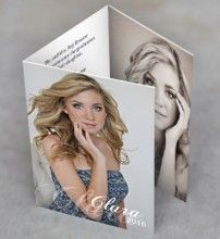 simple tri fold graduation perfect when you have gorgeous photos - Tri Fold Graduation Invitations