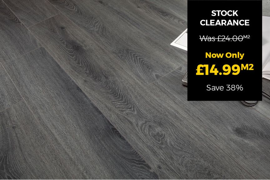 Series Woods Professional 10mm Laminate Flooring Grey Oak Laminate Flooring Grey Oak Grey Flooring