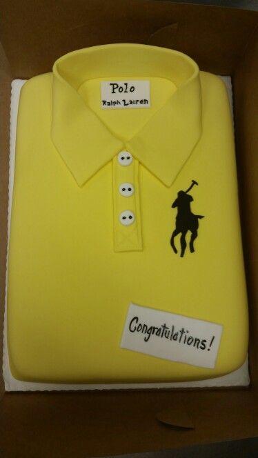 Polo Ralph Lauren Shirt Cake Masculine Birthday Graduation
