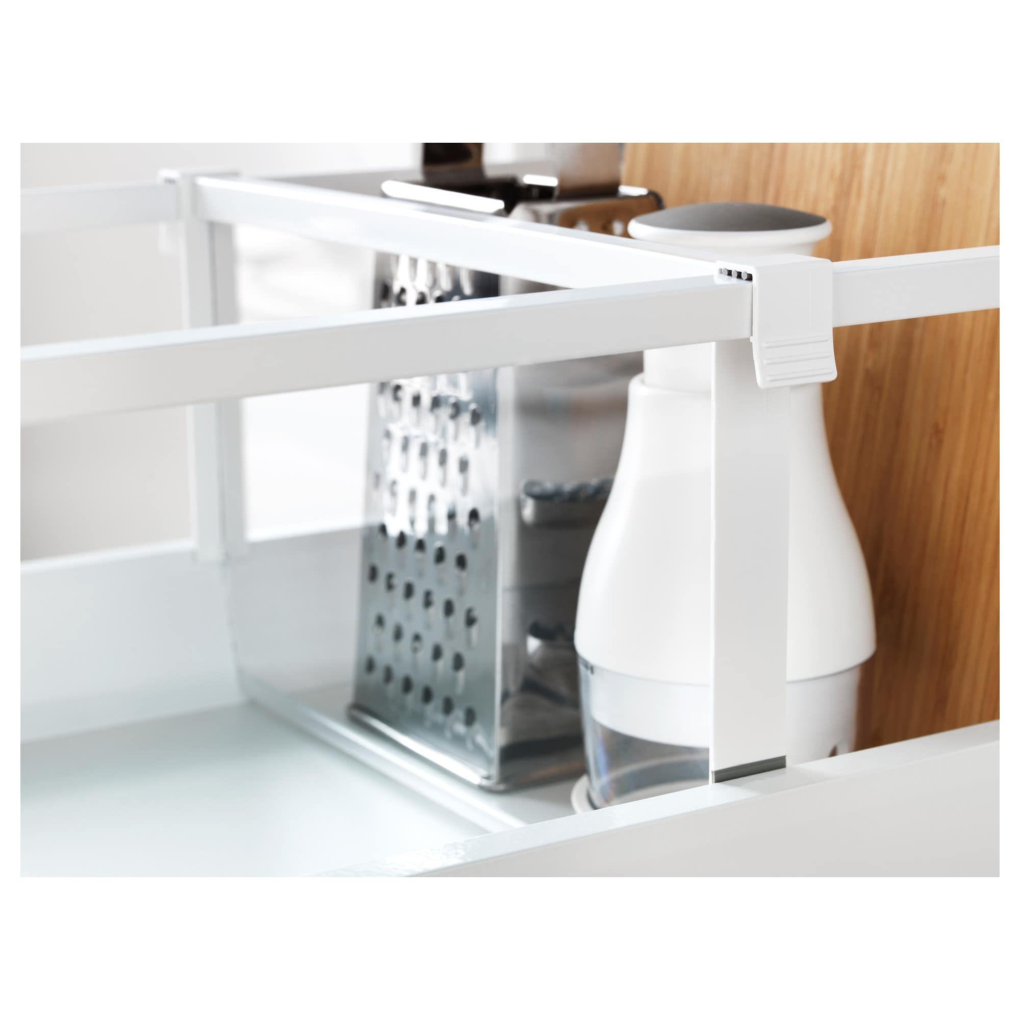 MAXIMERA Trennsteg für hohe Schublade weiß, transparent ...