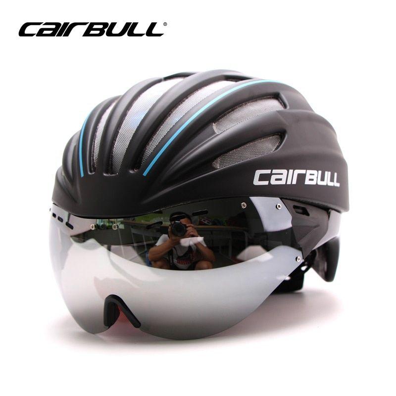Cairbull Ultralight Goggles Cycling Helmet Road Bike Mountain Mtb