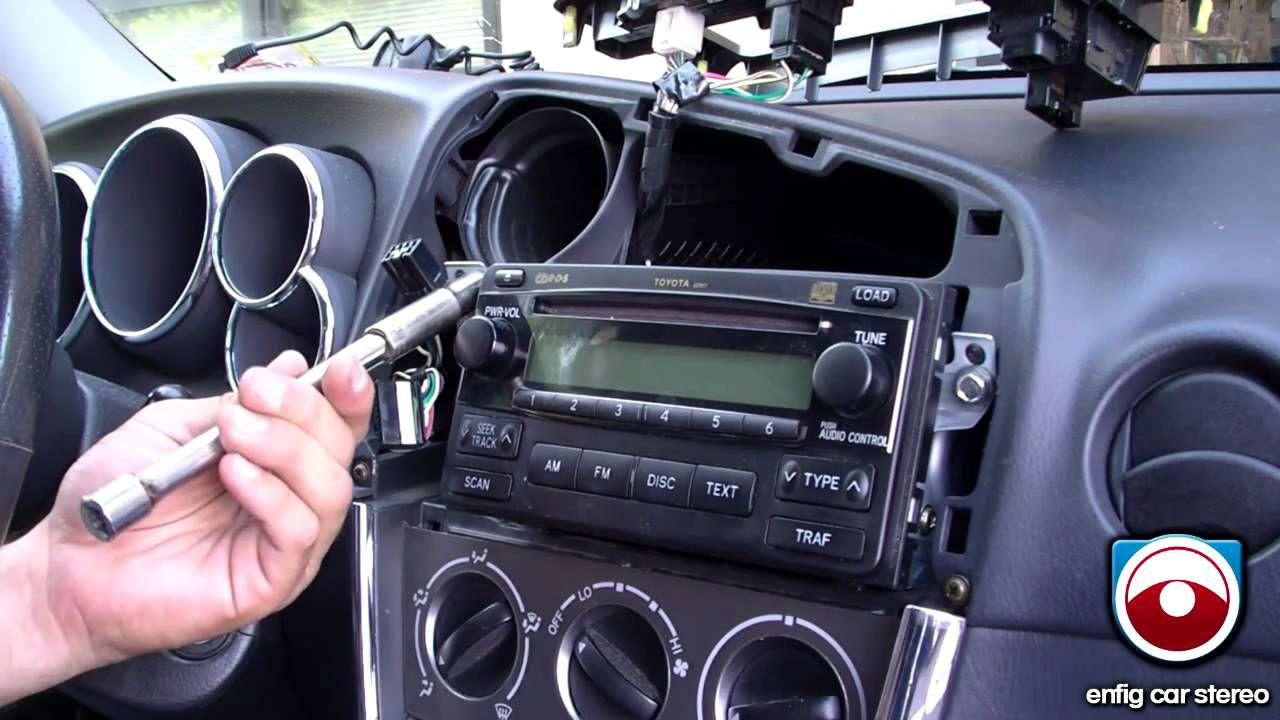 Ipod Iphone Or Aux Install 2005 2008 Toyota Matrix Blitzsafe Toy Aux D Toyota Tacoma Mods Toyota Toyota Matrix 2005
