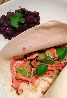 The Cookin' Chicks: Chipotle Salmon Tacos